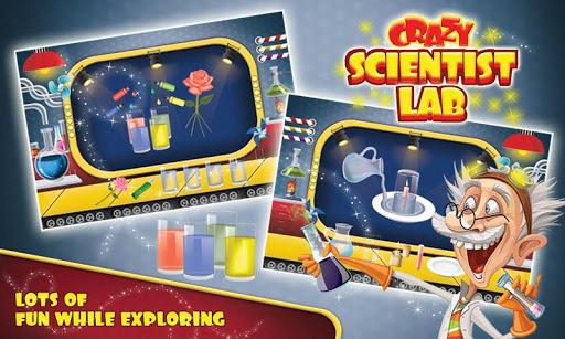 クレイジーな科学者の研究室実験