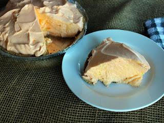 Orange Dream Whip Pie Recipe