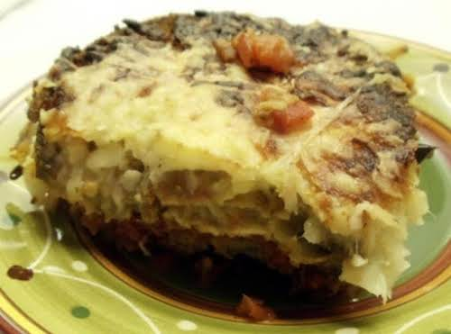 """Click Here for Recipe: Tonya's Superlative Eggplant Parmesan """"This has become my..."""
