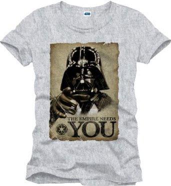 T-Shirt - The Empire Grå