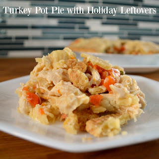 Turkey Pot Pie with Holiday Leftovers