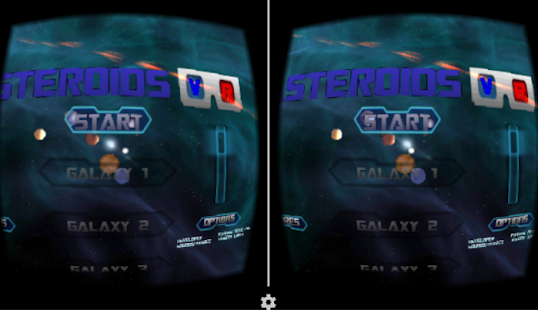 VR Asteroids- screenshot thumbnail