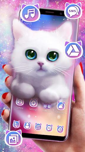 Cute Fluffy Kitten Theme screenshots 3