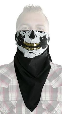 Bandana scarf Golden Teeth
