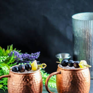 Concord Grape Moscow Mule – A Vodka Cocktail.