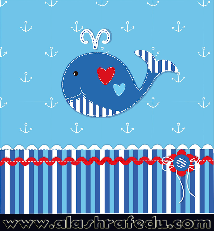 Baby Background With Cute Whale av3b-UDtS7_bxuuMWFCW