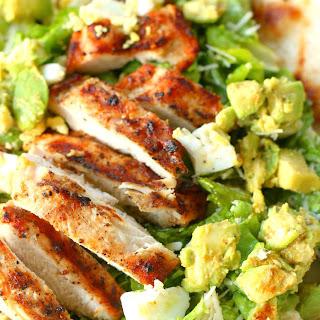 Avocado Chicken Caesar Salad.