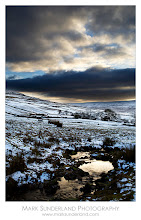 Photo: Thought I'd add one for #MoodyMonday this morning too...  Last Light, Wharfedale  The last rays of the setting sun reflect off a stream running down the dale just above Cray at the end of a cold and bleak winter's day.  Canon EOS 5D, 24-105mm at 40mm, ISO 50, f22 Two exposures blended along the horizon