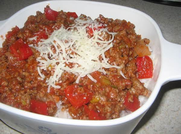 Skillet Unstuffed Peppers