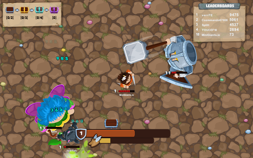 MiniGiants.io apktram screenshots 7