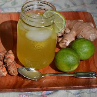 Turmeric, Ginger Limeade