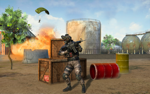 Delta Force Frontline Commando Army Games Screenshot
