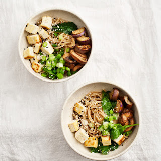 Ginger Miso Noodles With Eggplant.