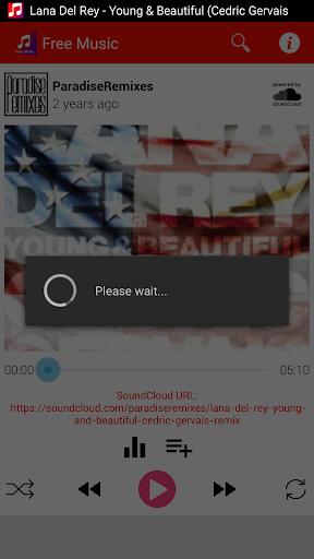 Free Music & Player Screenshot