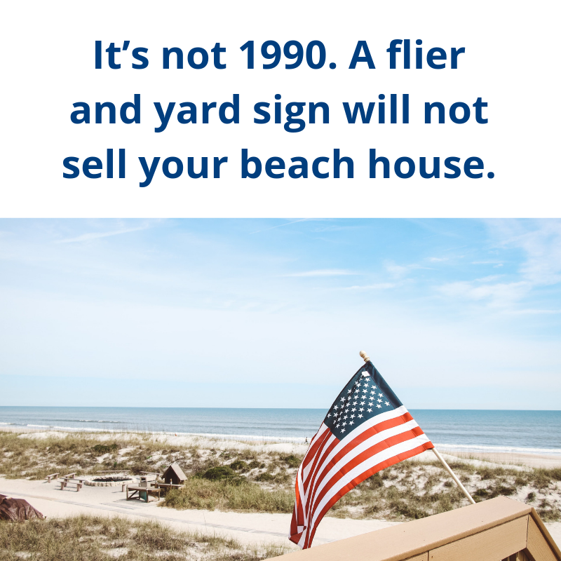 You need more than a yard sign to sell your house these days