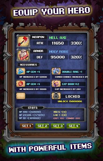 Code Triche Zawia RPG APK MOD screenshots 4
