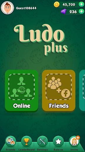 Ludo Plus - New Ludo Game 2020 For Free APK MOD – Pièces de Monnaie Illimitées (Astuce) screenshots hack proof 1