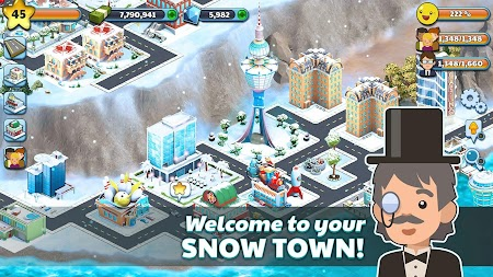 Snow Town - Ice Village World Winter Age APK screenshot thumbnail 2