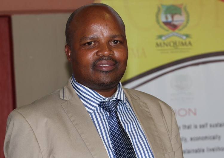Newly-elected Mnquma local municipality mayor Sithembiso Ncetezo.
