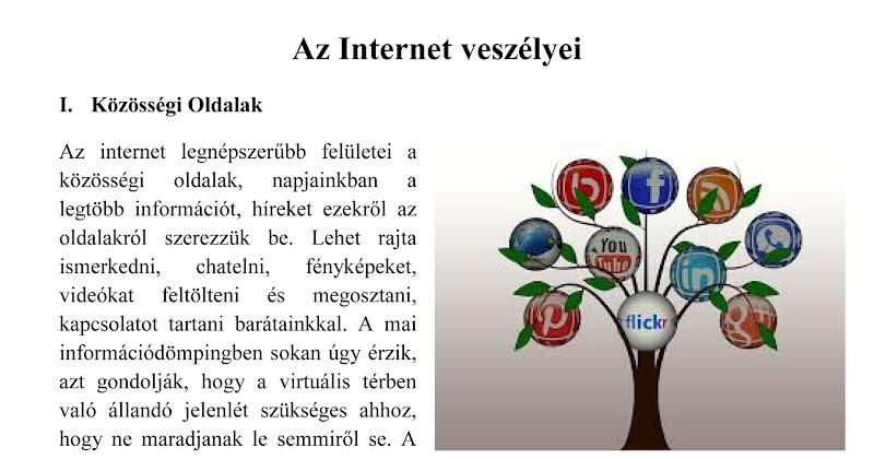 Az Internet veszélyei  - 2017