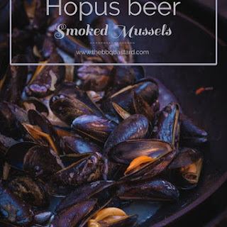 Hopus Beer steamed smoky mussels