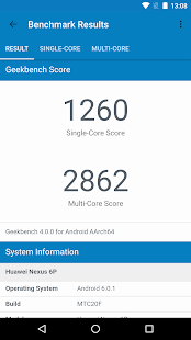 Geekbench 4- screenshot thumbnail