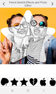 Download Pencil Sketch Effects And Photo Editor For PC Windows and Mac apk screenshot 1