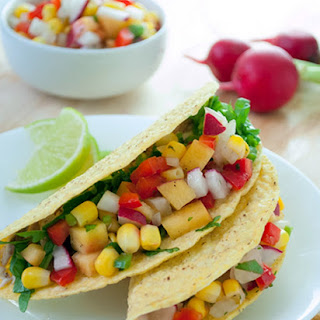 Pork and Nectarine Tacos Recipe