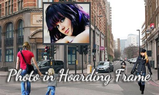 Photo in Hoarding Frame