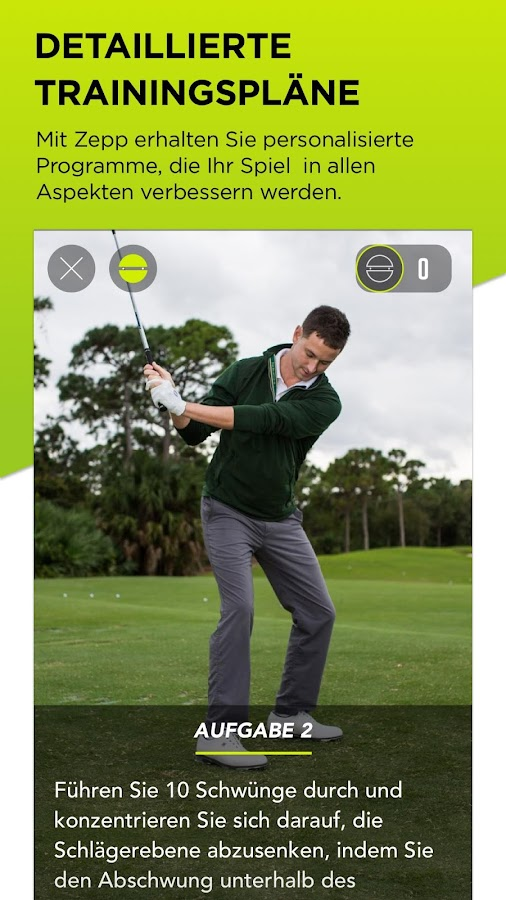 zepp golf 2 user guide