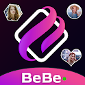 BeBe Live : Live Video Chat & Meet a girl icon