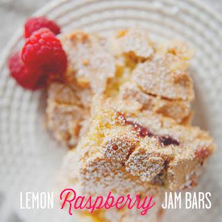 LEMON RASPBERRY JAM BARS