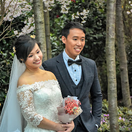 by Koh Chip Whye - Wedding Bride & Groom