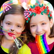 Free Download Crazy Rainbow Selfie Lense Camera Girl Makeup Cam APK for Samsung
