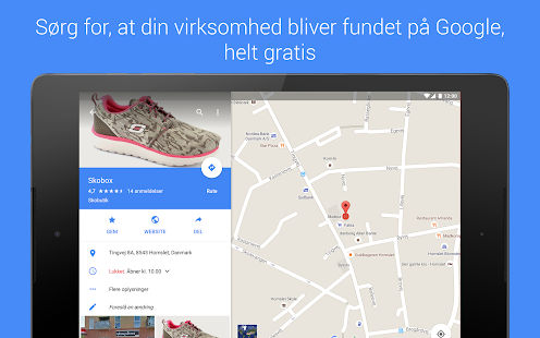 Google My Business – miniaturescreenshot