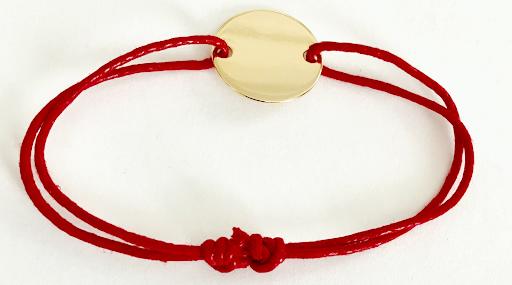 bracelet pastille plate