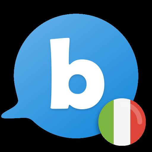 Learn to speak Italian with busuu Icon