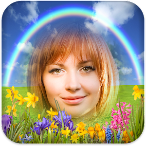 Rainbow Frames for Photos Icon