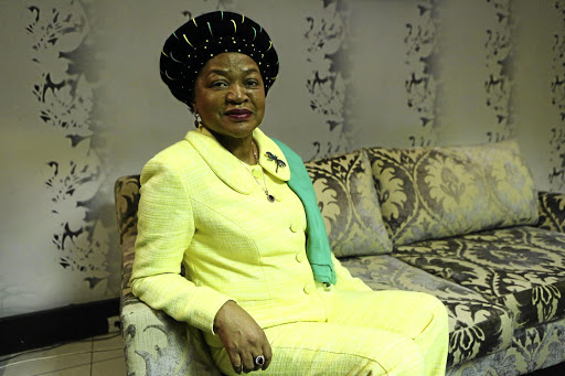 National Assembly Speaker Baleka Mbete.