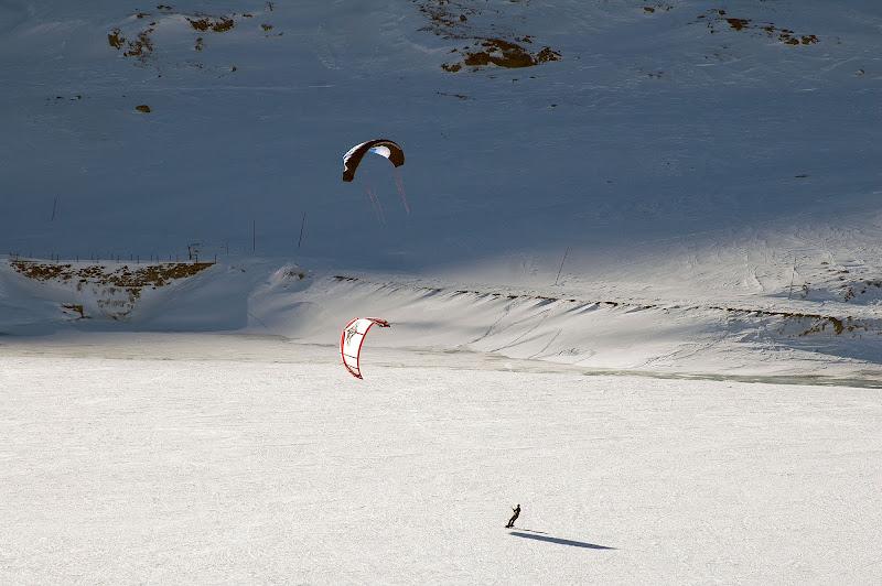 kite surf su lago ghiacciato al Bernina di benny48