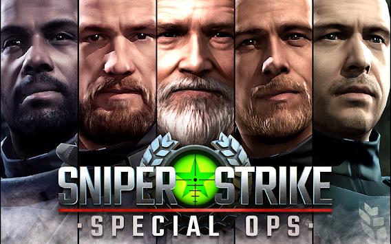 Sniper Strike – FPS 3D Shooting Game