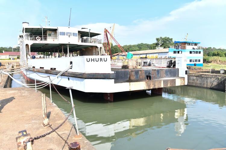 MV Uhuru Ship at the Kisumu Port
