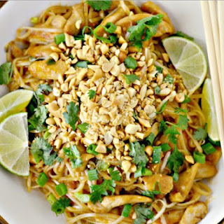 Weight Watchers Easy Chicken Pad Thai