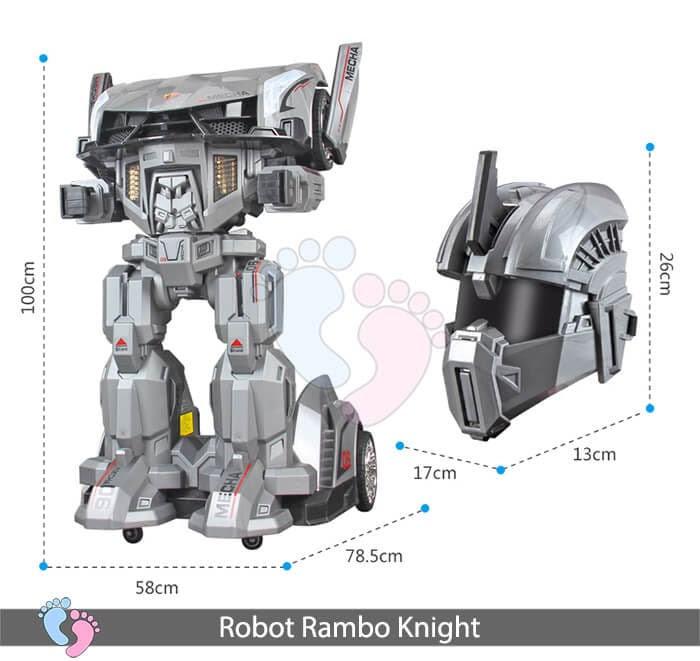Siêu phẩm Robot Rambo Knight Cho bé 21
