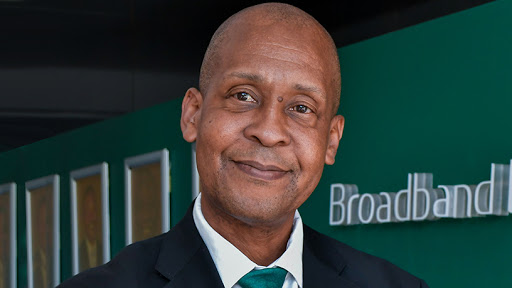 Broadband Infraco CEO Andrew Matseke.