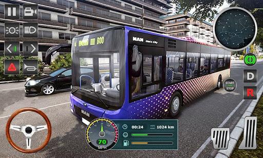 Real Coach Bus Simulator 3D 2018 1.07 screenshots 1