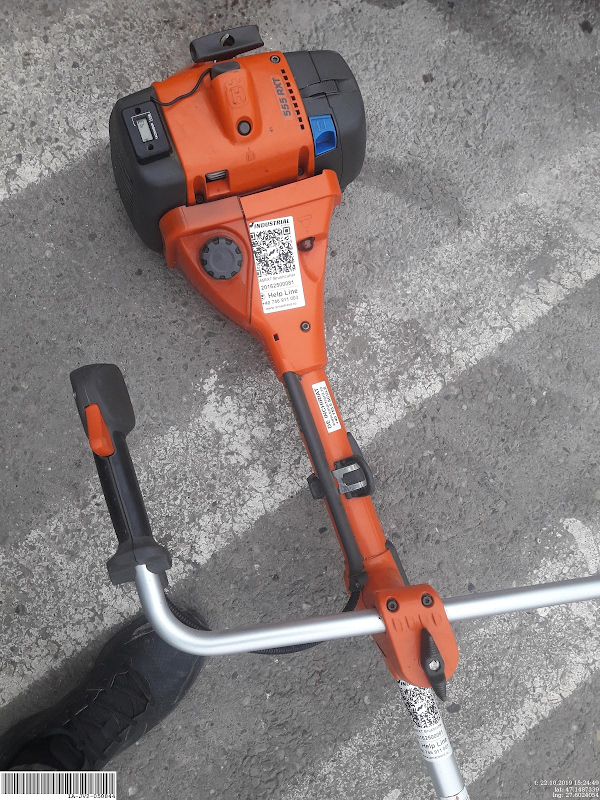 Picture of a HUSQVARNA 555RXT