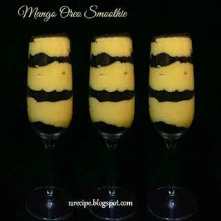 Mango Oreo Smoothie.