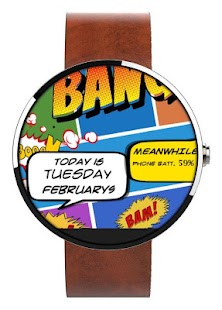 How to get WATCH FACE- COMIC TIMES 1.0 apk for pc
