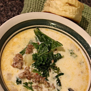 Spicy Italian Sausage and Potato Soup